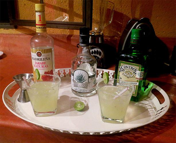 Receta para preparar una Margarita