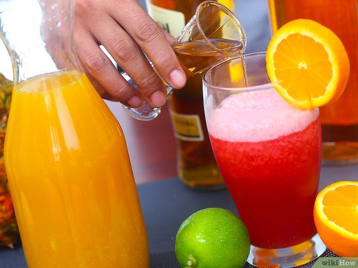 Como preparar un Rum runner