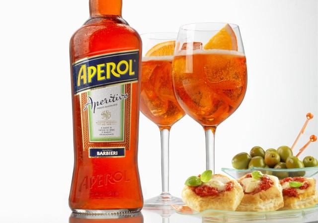 Receta para preparar el Aperol Spritz