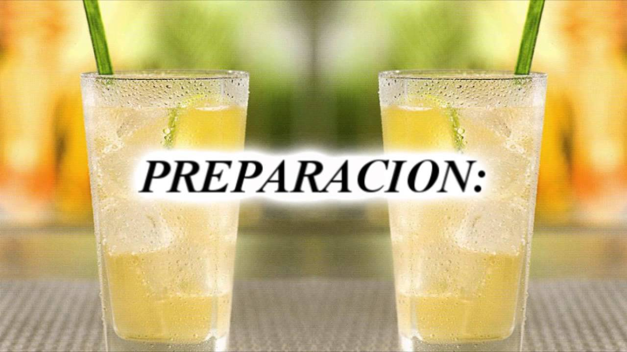 Chilcano de Pisco, Receta Original