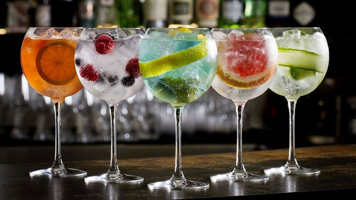 gin tonic love coctel imagen