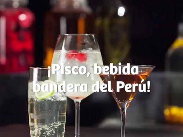 El Pisco, Licor Bandera del Perú